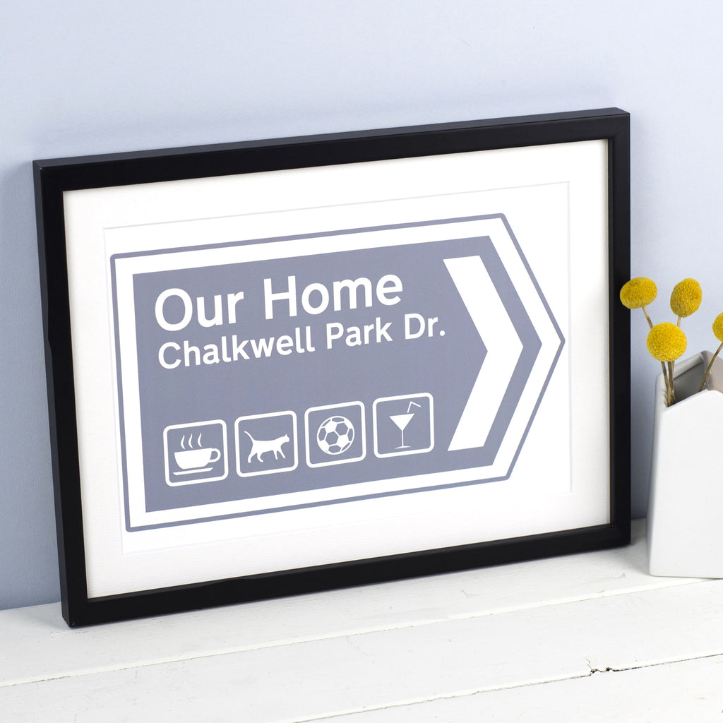 Personalised Our Home Print-Of Life & Lemons®