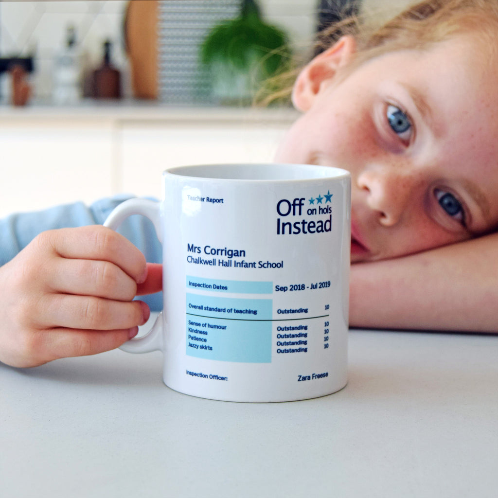 Personalised Funny Ofsted Report Mug-Of Life & Lemons®