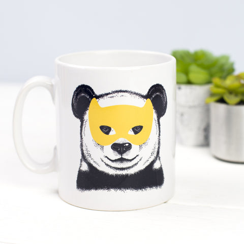 DISCONTINUED - Panda Superhero Mug-Of Life & Lemons®