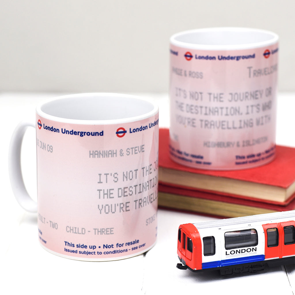 Personalised London Underground Mug-Of Life & Lemons®