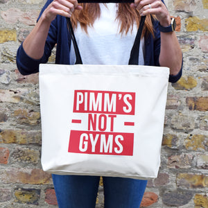 'Pimm's Not Gyms' Bag
