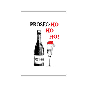 'Prosec-hohoho' Christmas Fridge Magnet-Of Life & Lemons®