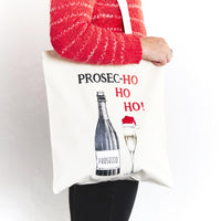 Prosecco Christmas Tote Bag-Tote Bag-Of Life & Lemons®