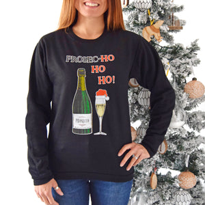 'Prosec-HoHoHo' Christmas Jumper-Tote Bag-Of Life & Lemons®