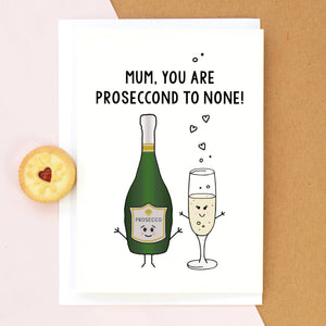 Prosecco Mother's Day Card-A4 Print-Of Life & Lemons®
