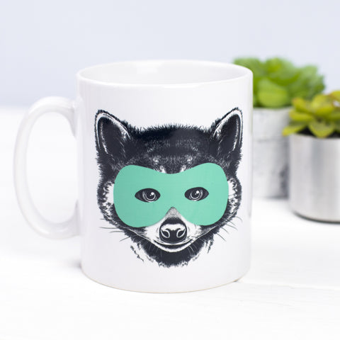 Superhero Animal Mug