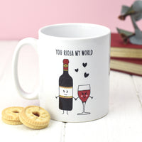 'You Rioja My World' Wine Mug-Of Life & Lemons®