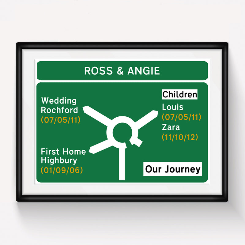 Personalised Road Sign Print *DIGITAL DOWNLOAD*