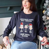 Funny Wine Christmas Jumper-Tote Bag-Of Life & Lemons®