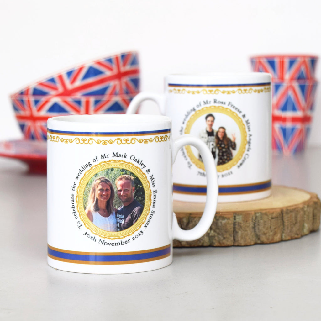 Personalised Commemorative Wedding Mug-mug-Of Life & Lemons®