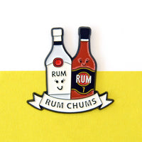 'Rum Chums' Enamel Pin Badge-Of Life & Lemons®