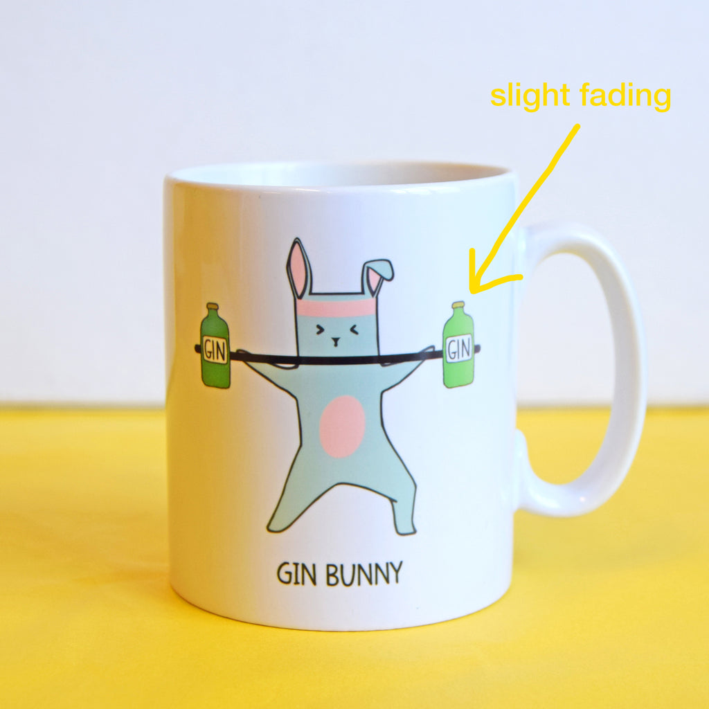 SLIGHT SECOND - 'Gin Bunny' Gin Mug-Of Life & Lemons®