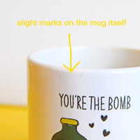 SLIGHT SECOND - 'You Rioja My World' Mug-Of Life & Lemons®