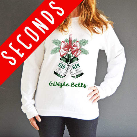 'Gingle Bells' Christmas Jumper - SLIGHT SECOND