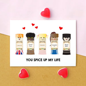 Funny 'Spice Girls' Valentine's Card-Of Life & Lemons®