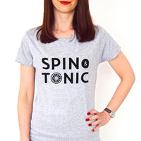 'Spin & Tonic' Ladies T-Shirt-Tote Bag-Of Life & Lemons®