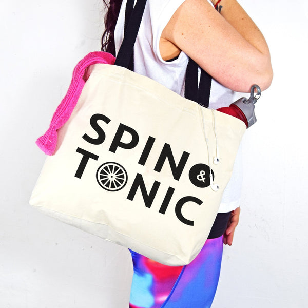 'Spin & Tonic' Gym Bag-Tote Bag-Of Life & Lemons®