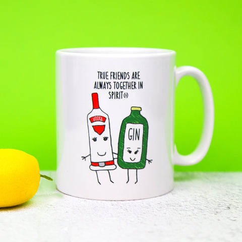 'Together in Spirit' Friendship Mug
