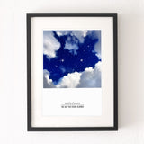 'The Day the Stars Aligned' Personalised Print