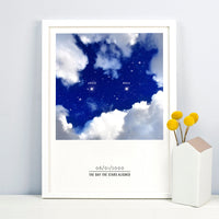 'The Day the Stars Aligned' Personalised Print-A4 Print-Of Life & Lemons®