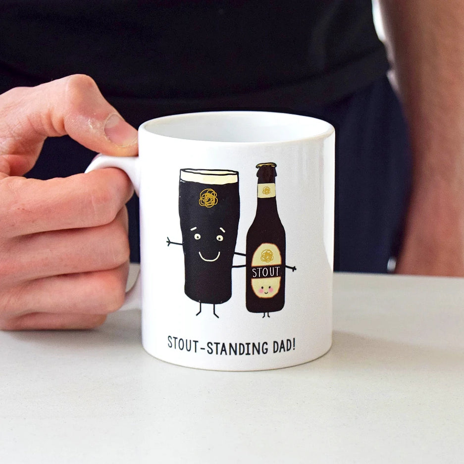 'Stout-standing Dad' Father's Day Mug