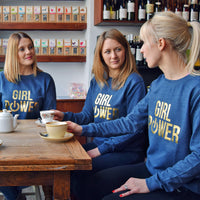 'Girl Power' Women's Sweatshirt-Tote Bag-Of Life & Lemons®
