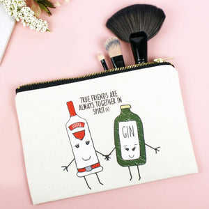 'Together in Spirits' Friendship Make Up Bag