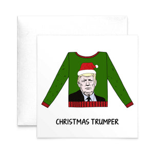 Funny Donald Trump Christmas Card-A4 Print-Of Life & Lemons®
