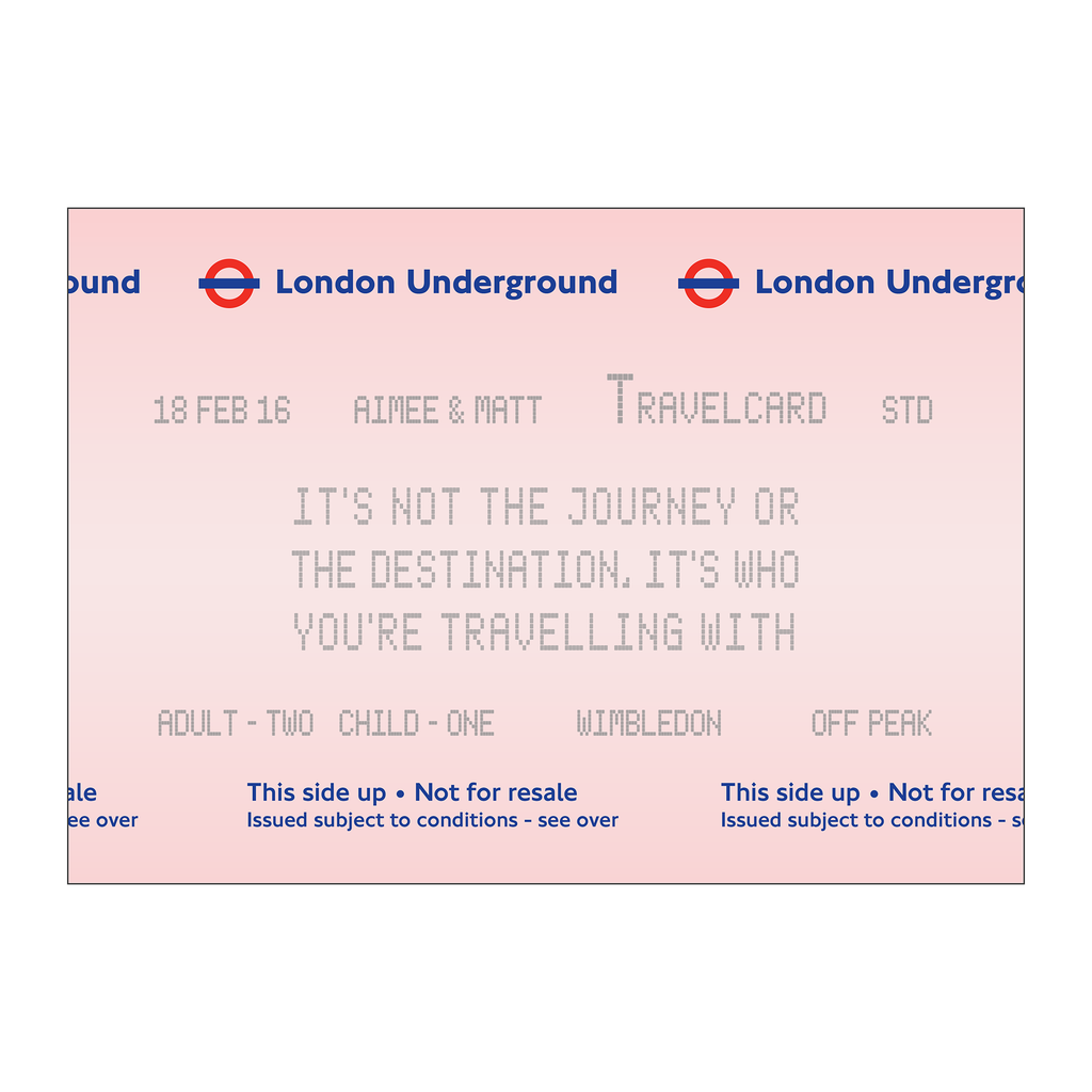 Personalised London Underground Print *DIGITAL DOWNLOAD*