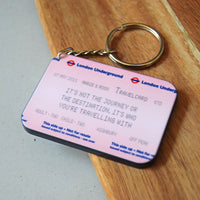 Personalised London Underground Keyring-Keyring-Of Life & Lemons®