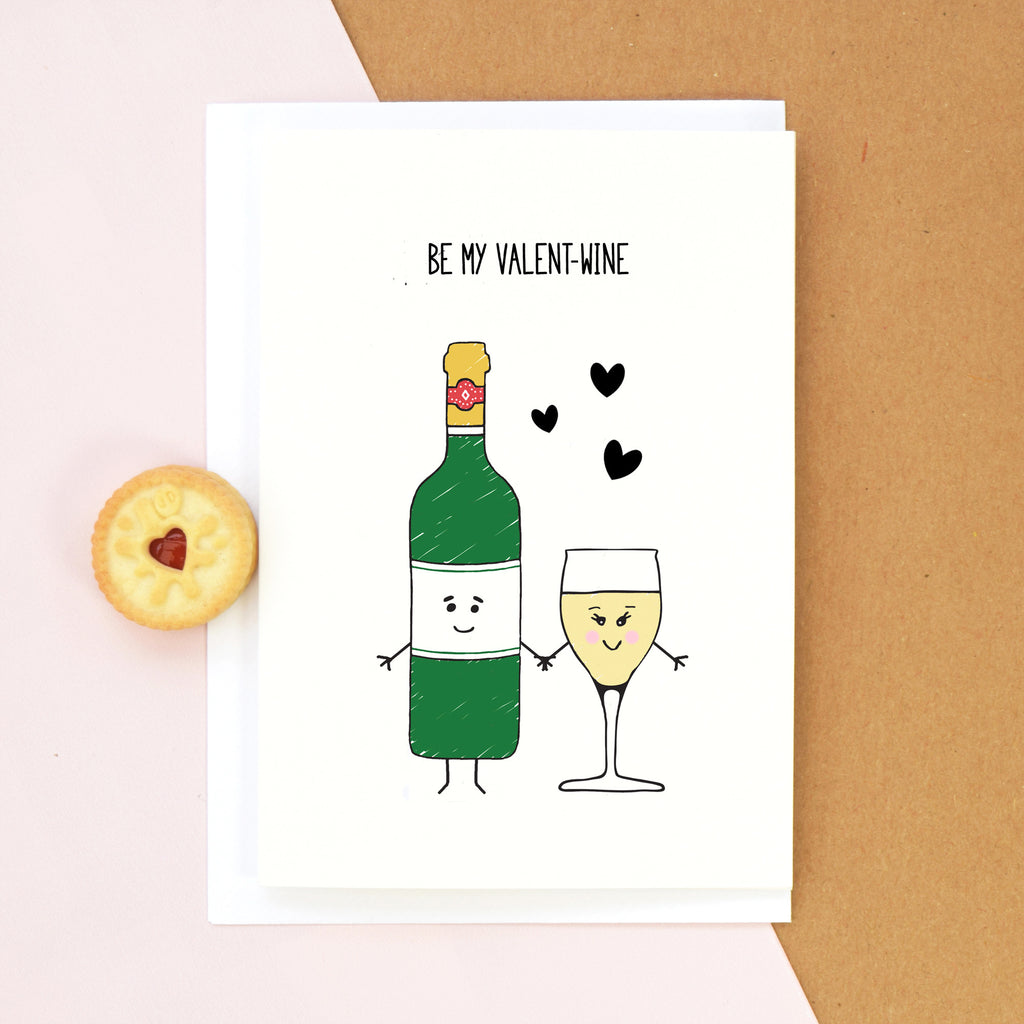 Wine Valentine's Card-Of Life & Lemons®