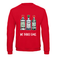 'We Three Gins' Christmas Jumper-Tote Bag-Of Life & Lemons®