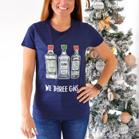 'We Three Gins' Christmas T-Shirt-Tote Bag-Of Life & Lemons®