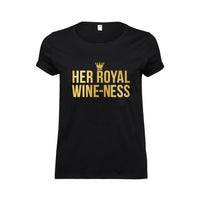 'Her Royal Wine-Ness' Funny Wine T-Shirt-Tote Bag-Of Life & Lemons®