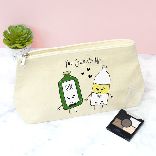 'You Complete Me' Gin & Tonic Make Up Bag