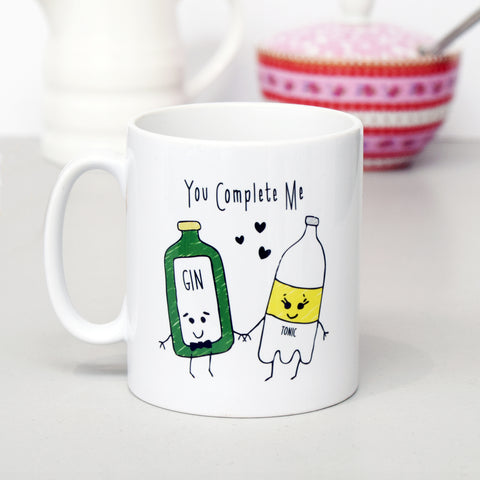 'You Complete Me' Gin Mug