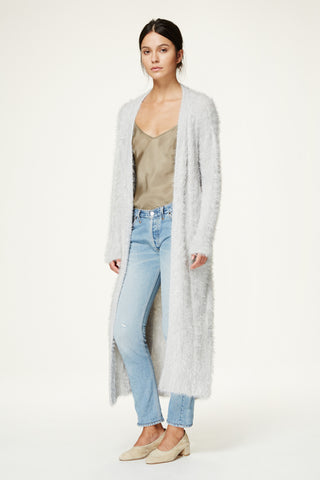 Jimmy Cable Knit Sweater Coat