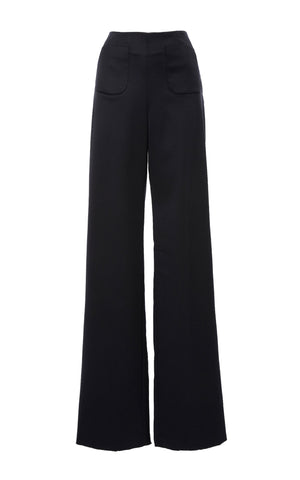 Merino Wool Front Pocket Pant