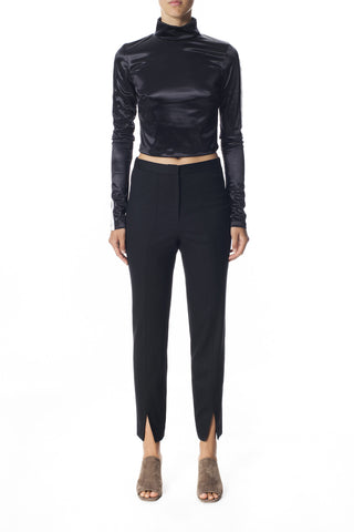 Merino High Waisted Split Seam Pant