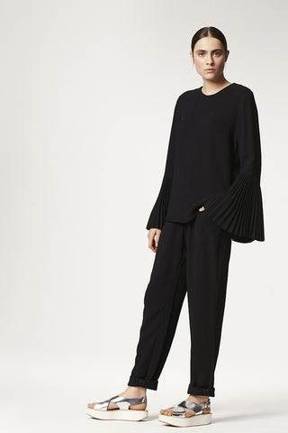Viscose Slouch Pant