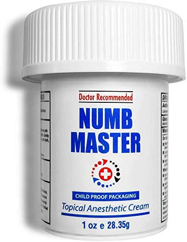 Numb Master Lidocaine 5% Topical Numbing Cream