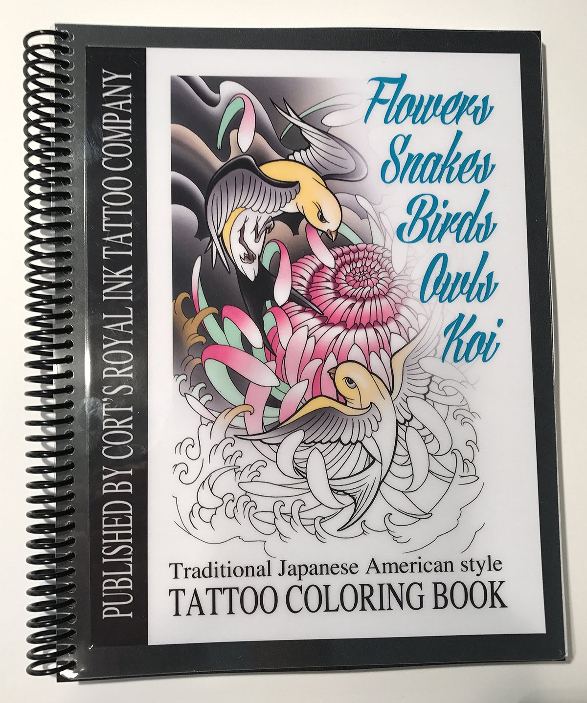 Tattoo Book, 75 Pages