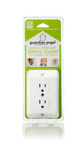 Guardian Angel Shockproof Outlet (single unit)