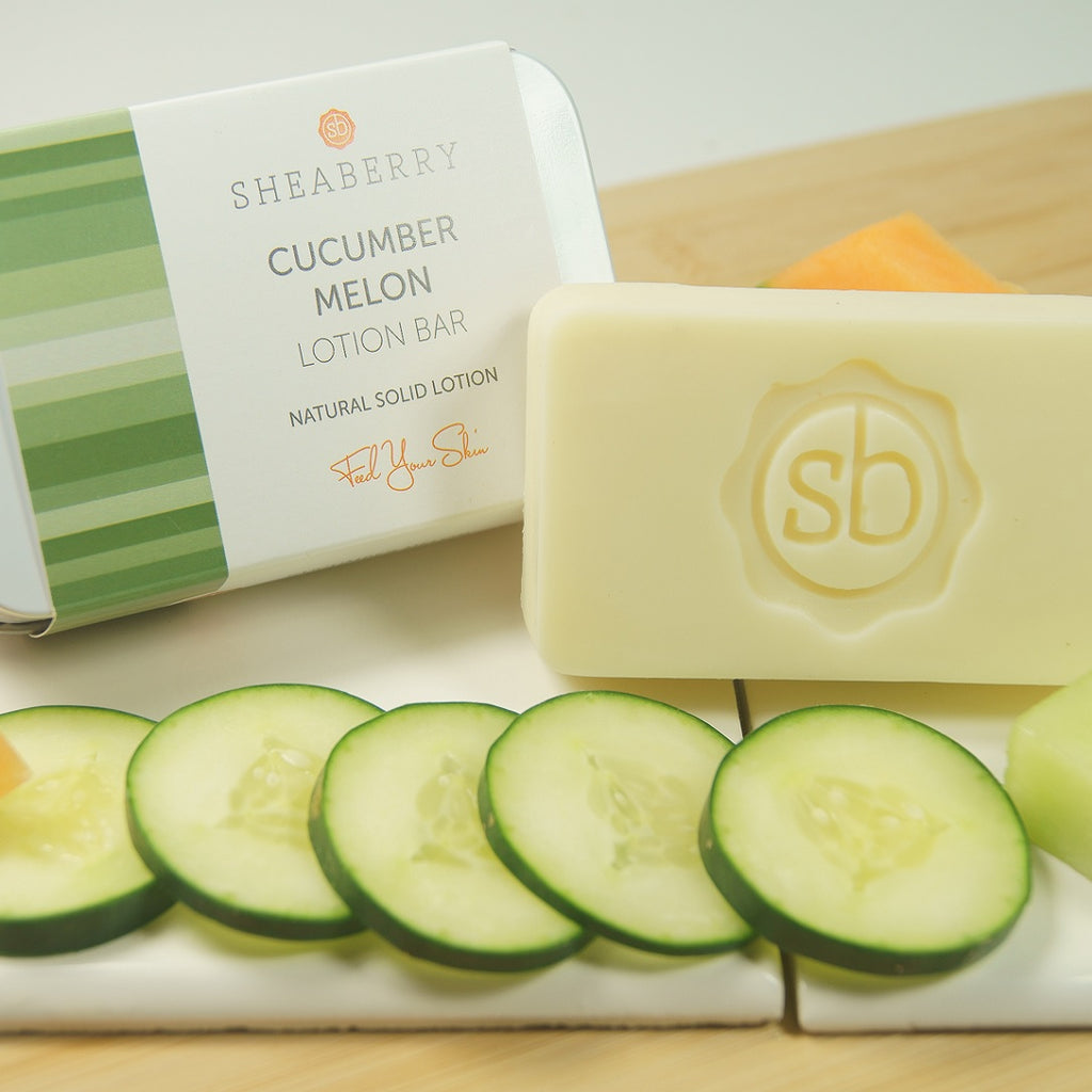 CucumberMelon Lotion Bar