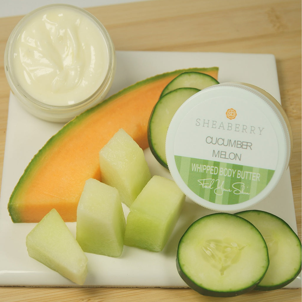 CucumberMelon Whipped Body Butter