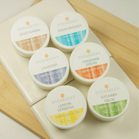 6 Whipped Body Butters - Buy 5 Get 1 FREE!