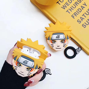 Naruto and Kakashi AirPods Case
