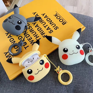 Pikachu Head AirPods Case