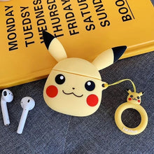 Load image into Gallery viewer, Pikachu Head AirPods Case