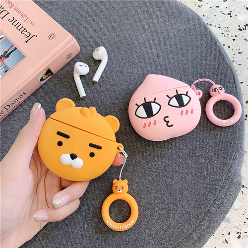 Apeach and Ryan AirPods Case
